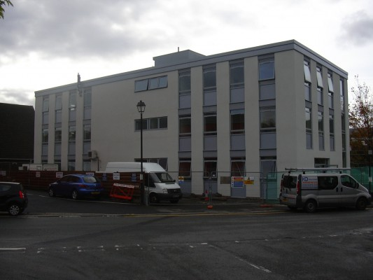 Refurbishment of Crownford House, Merthyr Tydfil